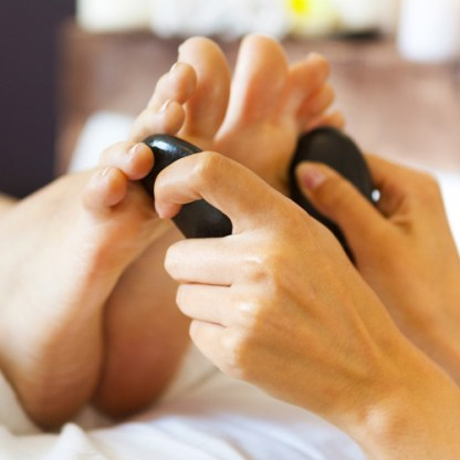 Hot & Cold Stone Reflexology Training Course, Brighton Holistics, AoR and FHT Sussex