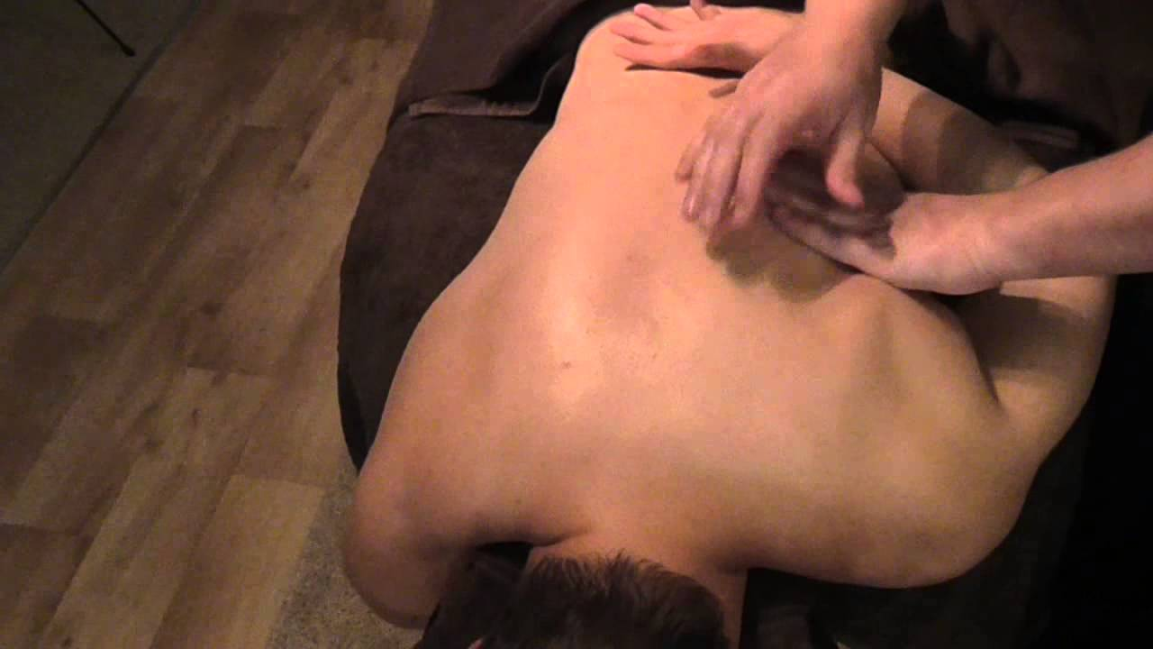 Basic Scapular Massage  Demonstration by Brighton Holistics