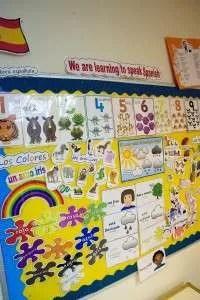 Our nursery children enjoy Spanish classes every week.