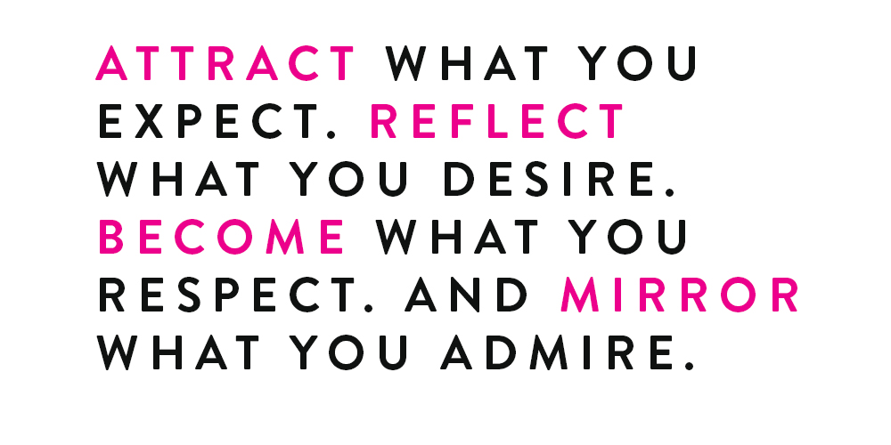 attract what you expect quote