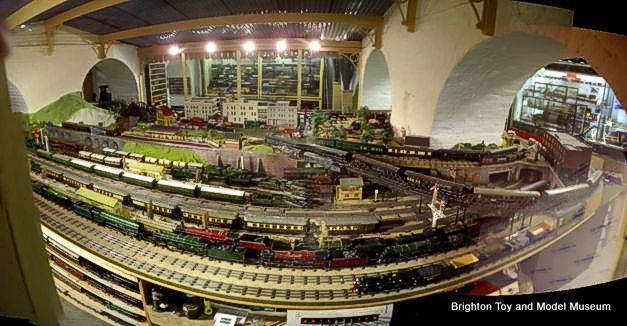 Category1930s Model Railway Layout The Brighton Toy And