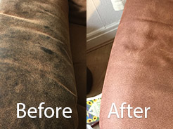 faux suede sofa cleaning instructions white leather and loveseat suite lancashire brights cleveleys transformation read more here
