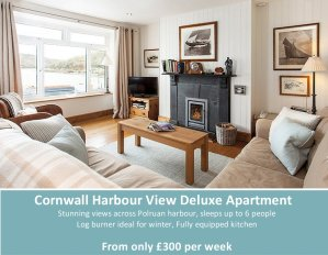 Castle House Cottage, Polruan, Fowey, Cornwall. Holiday apartment, holiday cottage