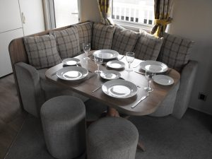 Mendip 9, Haven, Dining Area
