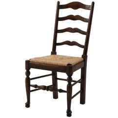 Ladderback Dining Chairs Metal Outdoor Australia An Oak Ladder Back Side Chair From Brights