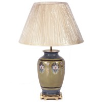 Art Deco style table lamp with shade, Table Lamps from