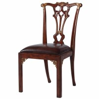 Thomas Chippendale style mahogany dining chair, Dining ...