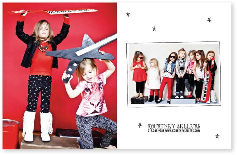 Kourtney Sellers fall Workbook spread by Bright Spot Studio