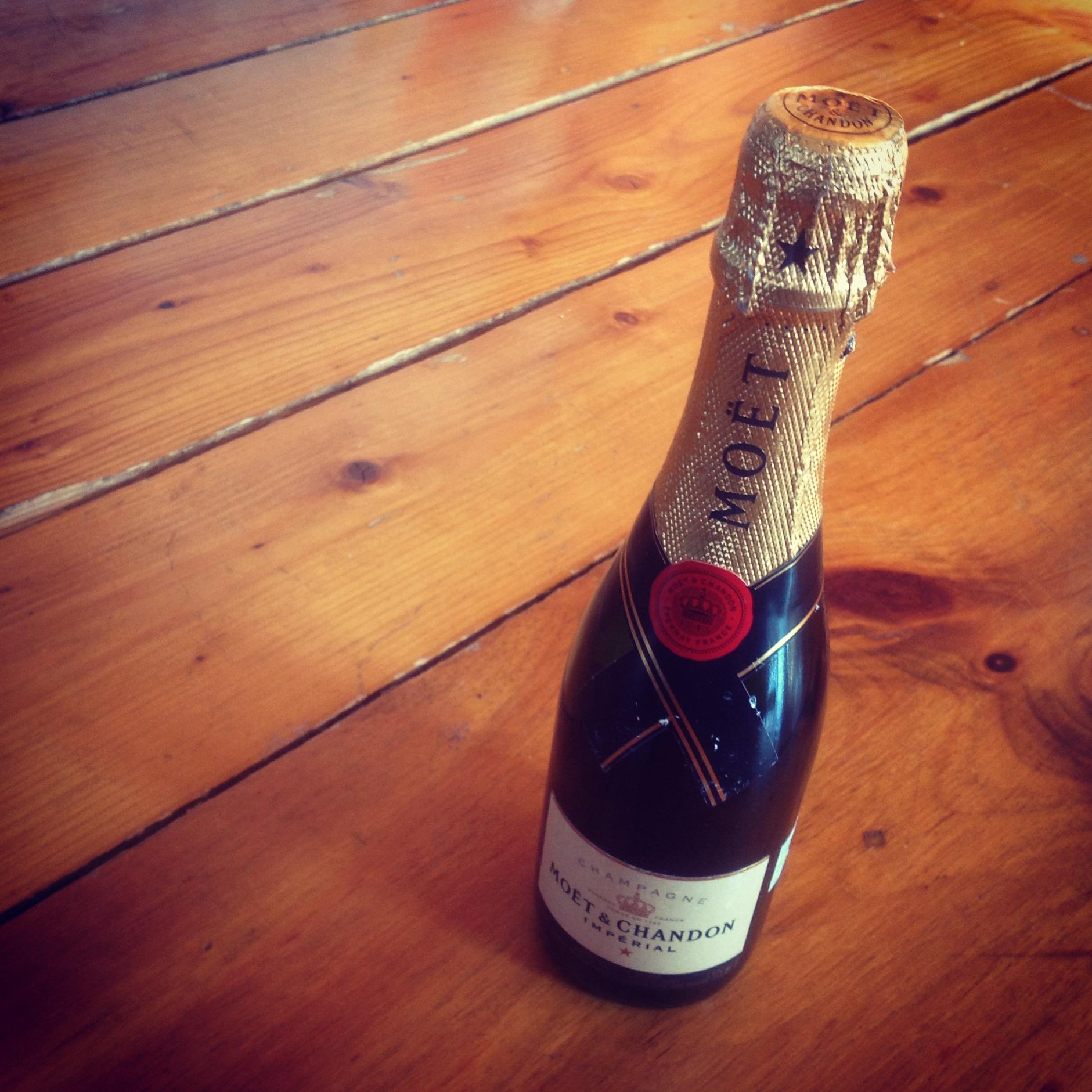 champagne celebration