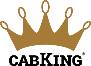 CabKing logo redesign by Bright Spot Studio