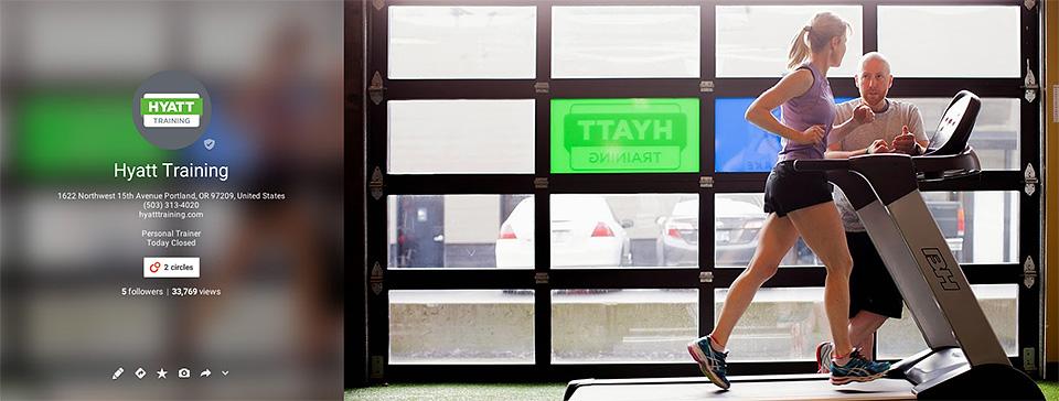 Hyatt Training Google plus page