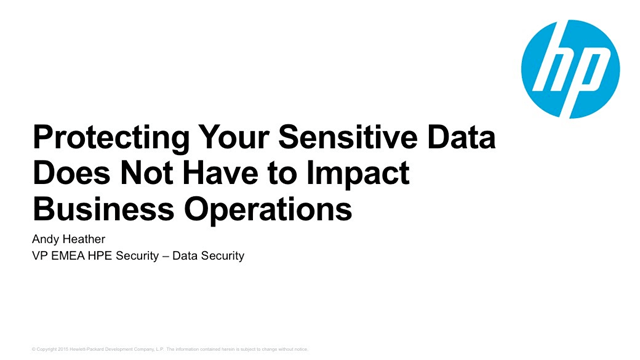 Protecting Your Sensitive Data Does Not Have to Impact