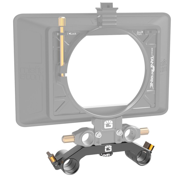 B1200.1017 19mm Studio Bracket with Misfit Atom