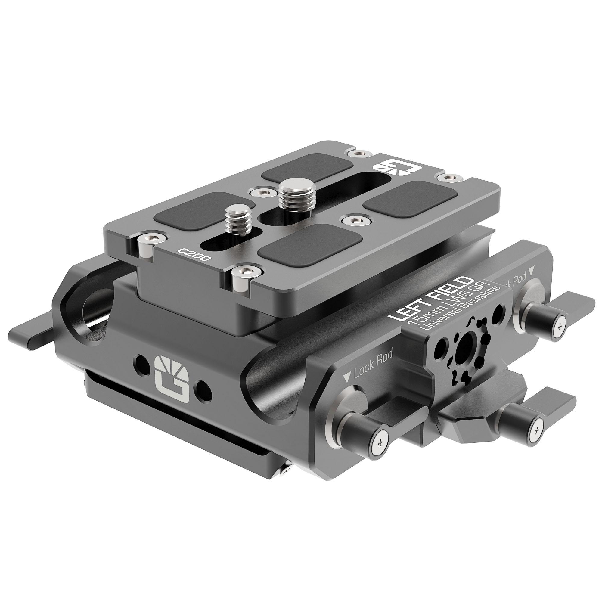 B4005.0001 Canon C200 LWS sliding Baseplate 1 1