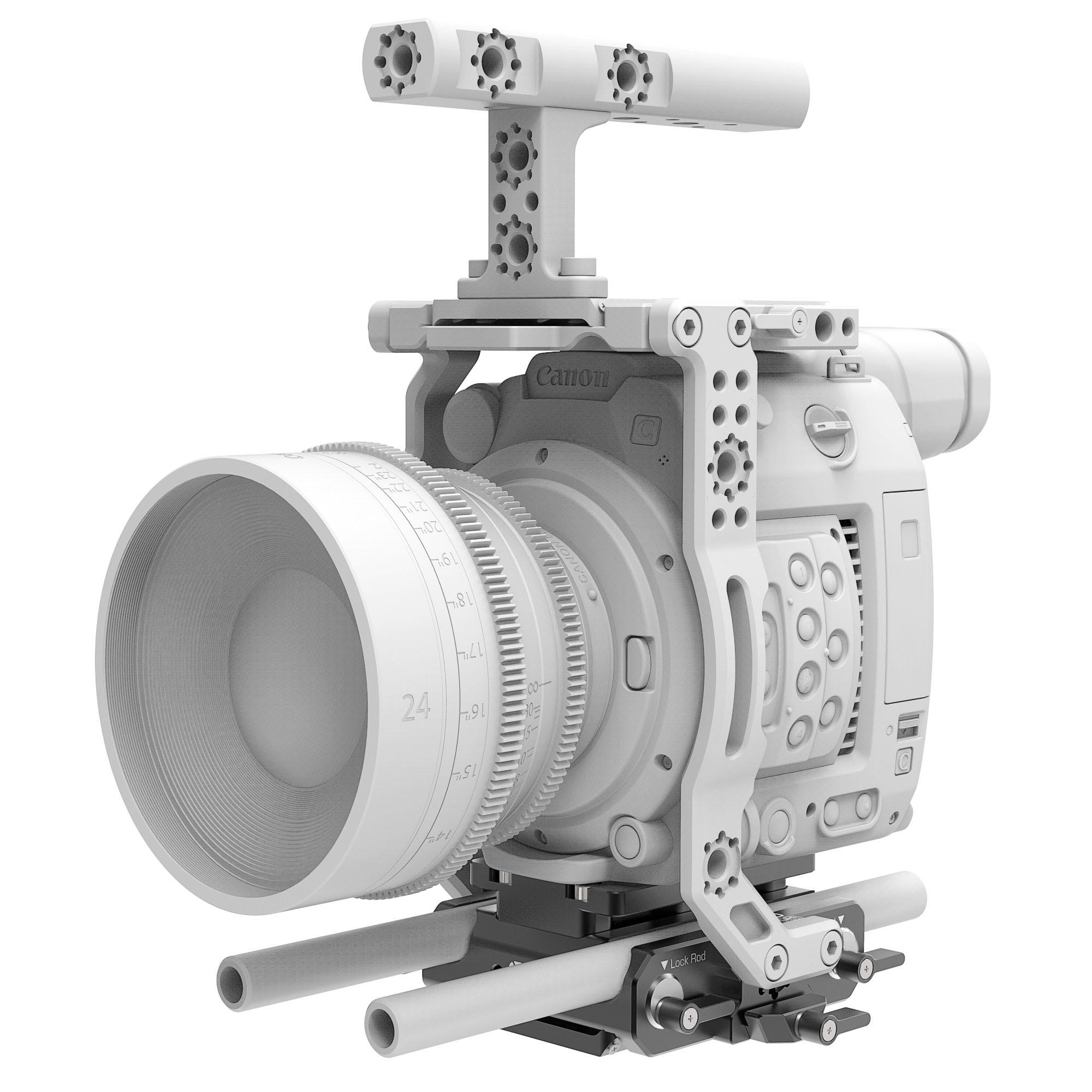 B4005.0001 Canon C200 LWS sliding Baseplate 14