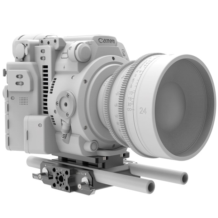B4005.0001 Canon C200 LWS sliding Baseplate 5 1