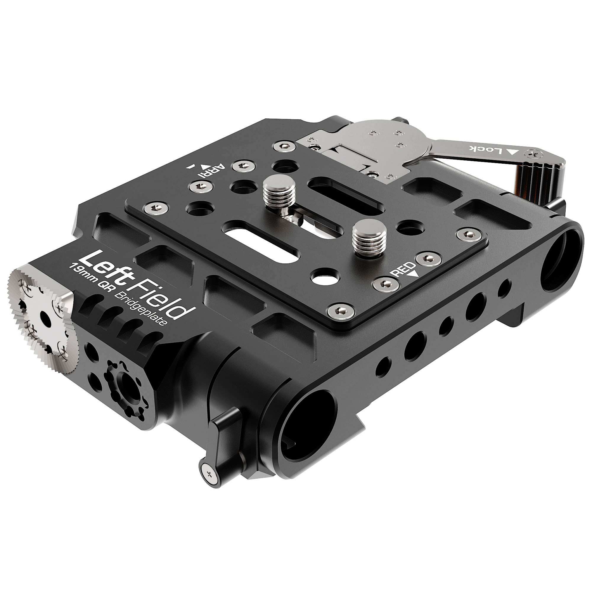 B4003 1002 Left Field 19mm QR Bridgeplate ARRI Mode 1