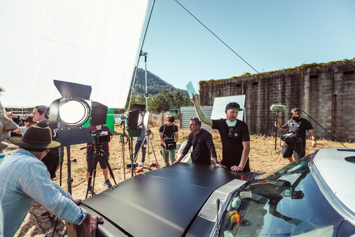 BTS with The Dreamers for Super Cheap Auto Oils Campaign