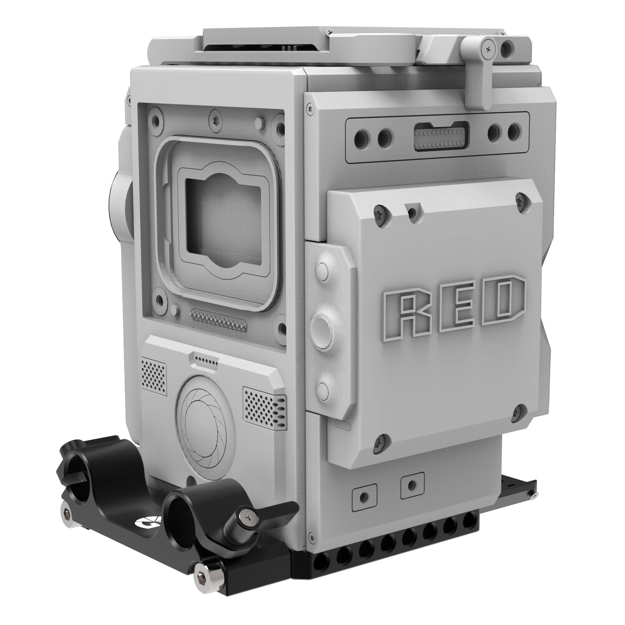 B4002 0002 Left Field 15mm Baseplate for DSMC2 3 2