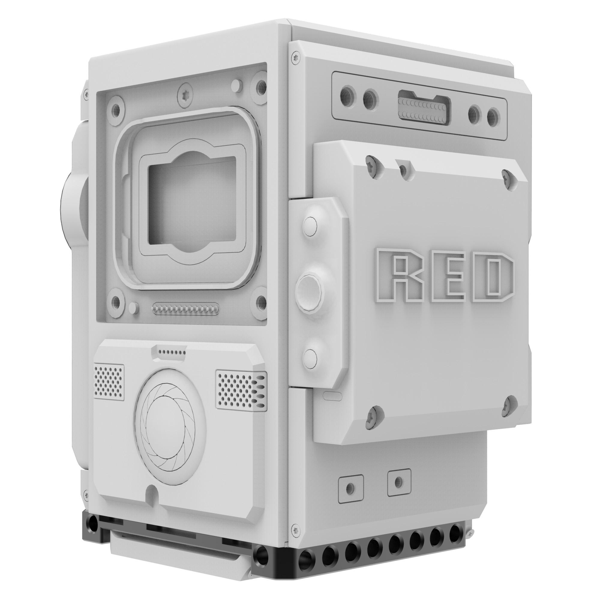 B4002.1001 Baseplate Core RED DSMC2 3