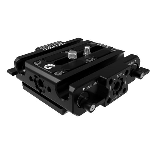 B4005 0005 Canon C100 C300 C500 Left Field QR Baseplate 02