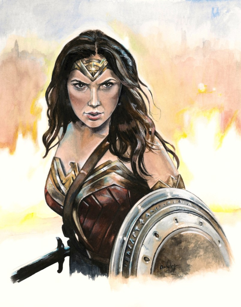 The Four Things I Want To Say About Wonder Woman Bright