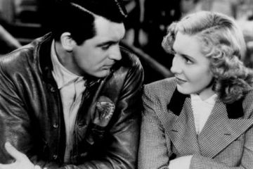 Cary Grant and Jean Arthur in ONLY ANGELS HAVE WINGS | Columbia Pictures