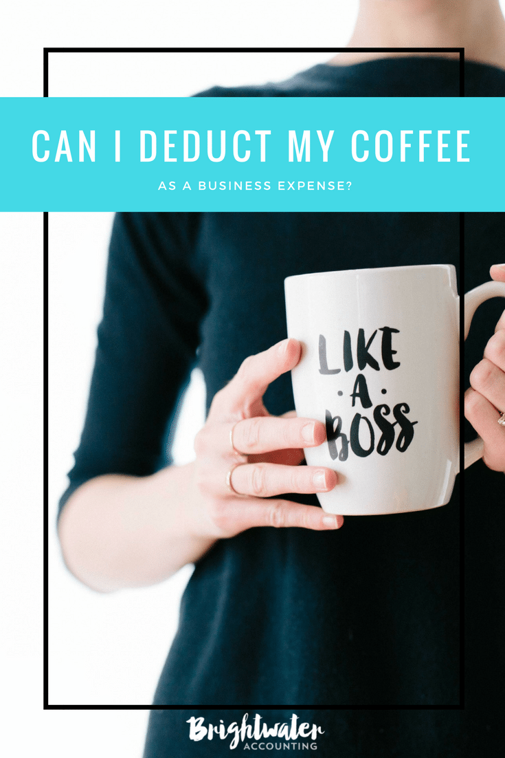 Can I deduct my coffee as a business expense