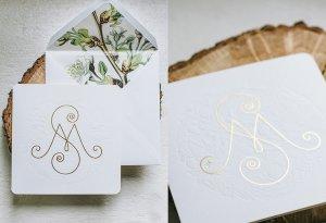 Botanical Chic Προσκλητήριο Γάμου