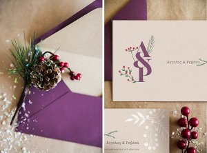 Winter Wedding Invitation