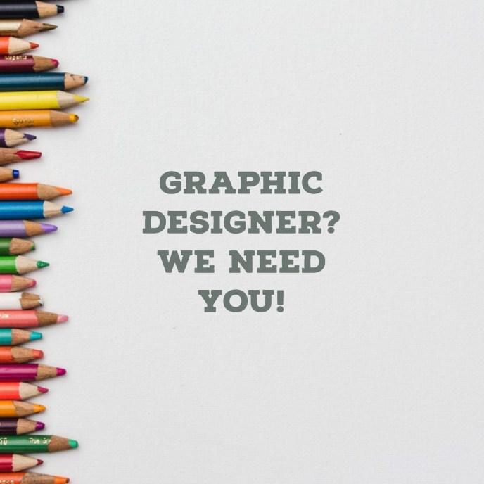 Social media ad for a new Graphic Designer