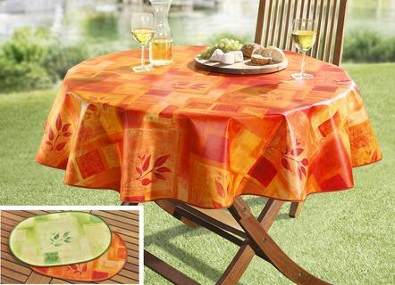 Gartentischdecken und Wachstischdecken kaufen  Brigitte