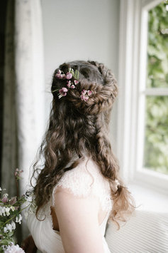 brigitte fisher devon wedding hair