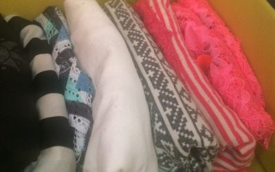 Pliage des pulls à la verticale: merci Marie Kondo