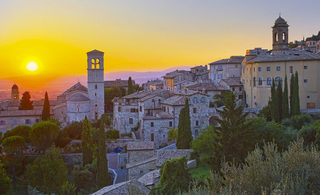 assisi itinerary umbria assisi