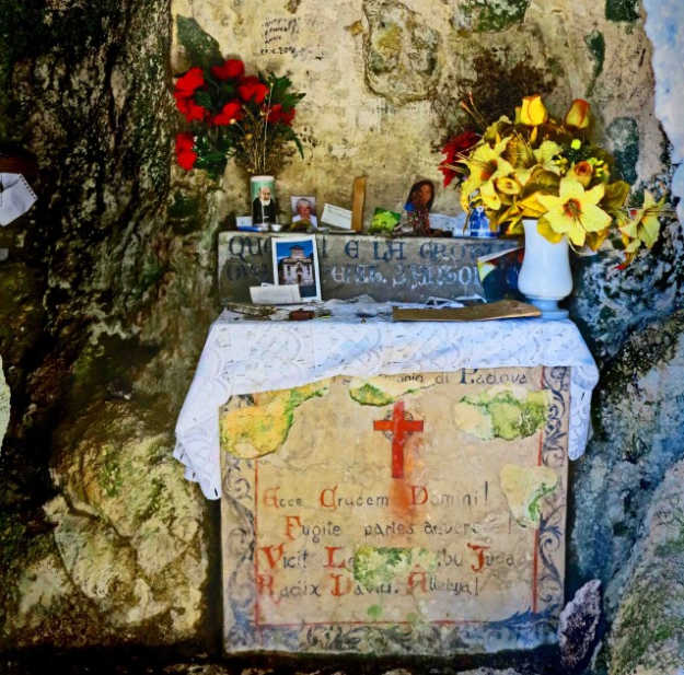 monteluco sanctuary spoleto