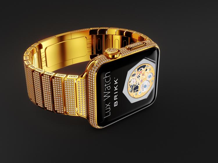 Iphone 6s Carbon Fiber Wallpaper Lux Watch Omni 18k Yellow Gold