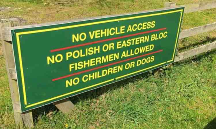 Fishing hole become site of intercultural clash