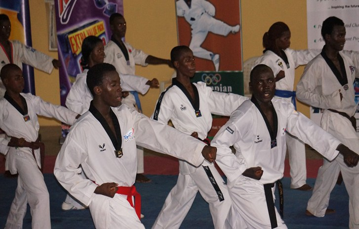 101 Coaches  storms ABuja for Taekwondo International coaching training.