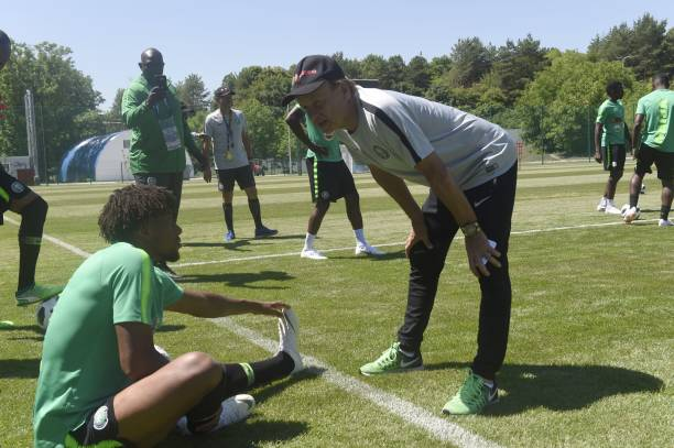 """""""He brought out the best in me"""", Iwobi picks Rohr as his best coach ever - Latest Sports News In Nigeria"""