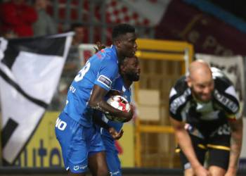 Onuachu, Odey fire blank in Genk's narrow win - Latest Sports News In Nigeria