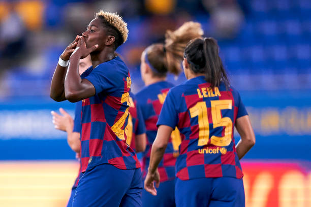 Having Oshoala In My Team Is An Honour – Barcelona Female Team Coach Cortes