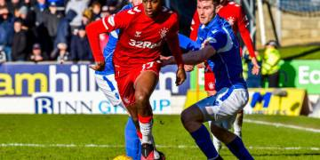Gerrard Saves Praise for Aribo in Disappointing Draw as Rangers Suffer Major Title Blow - Latest Sports News In Nigeria