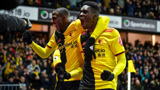 Success not involved in Watford's demolition of Liverpool - Latest Sports News In Nigeria