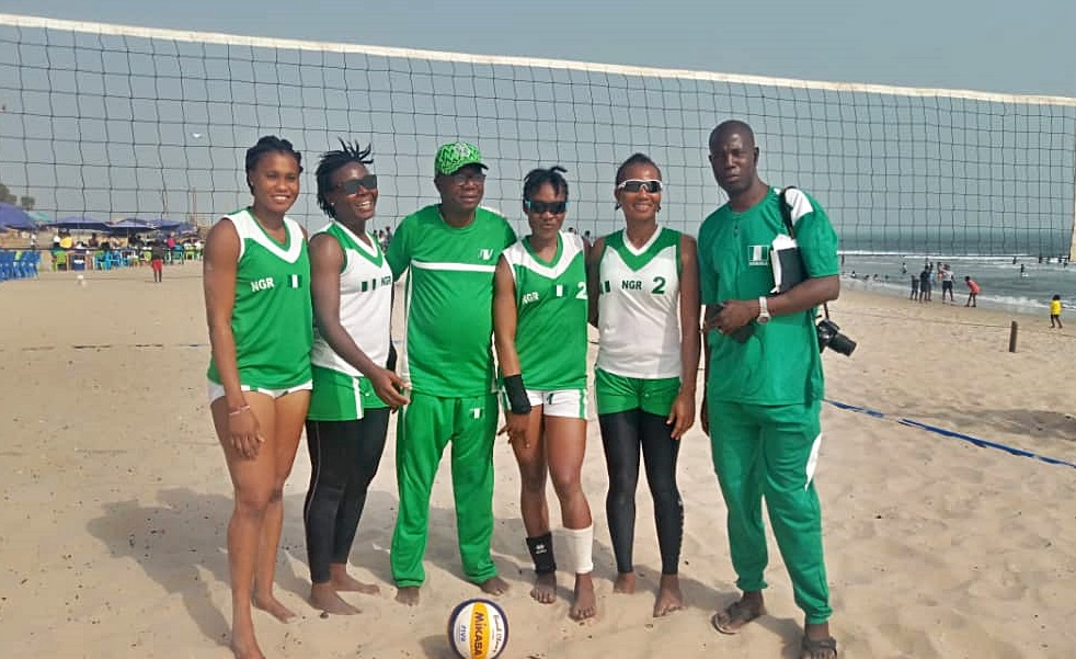 Abdullahi backs Nigeria's women beach Volleyball team to pick Olympic ticket - Latest Sports News In Nigeria