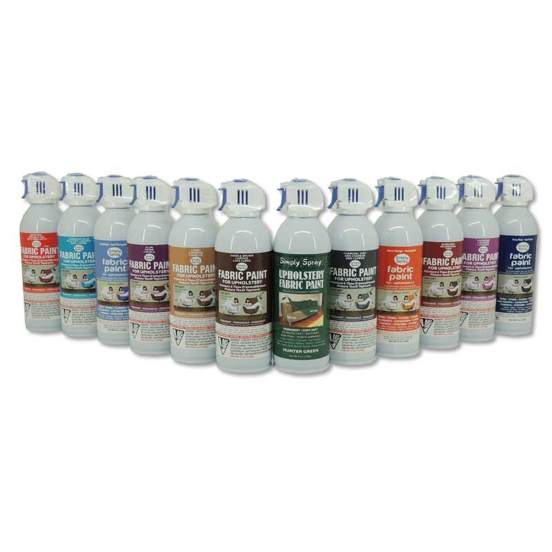 Pintura para tela de tapicera en spray  Brildor