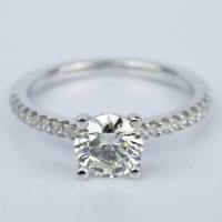 Super Ideal Cut Diamond Engagement Ring (1.25 ct.)