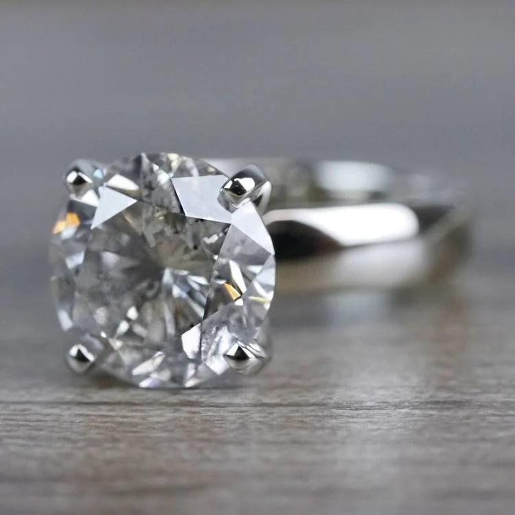 Remarkable Engagement 3 Carat Diamond Ring