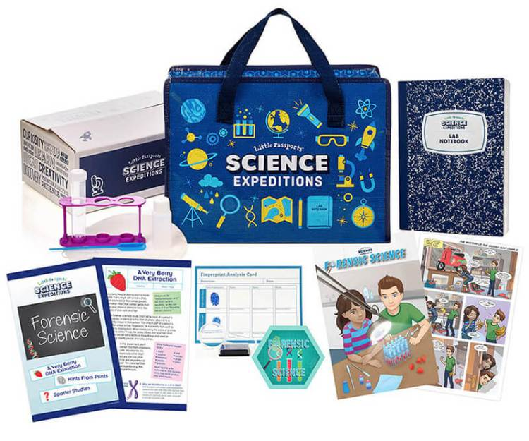 Little Passports science-subscription-kit-whats-inside