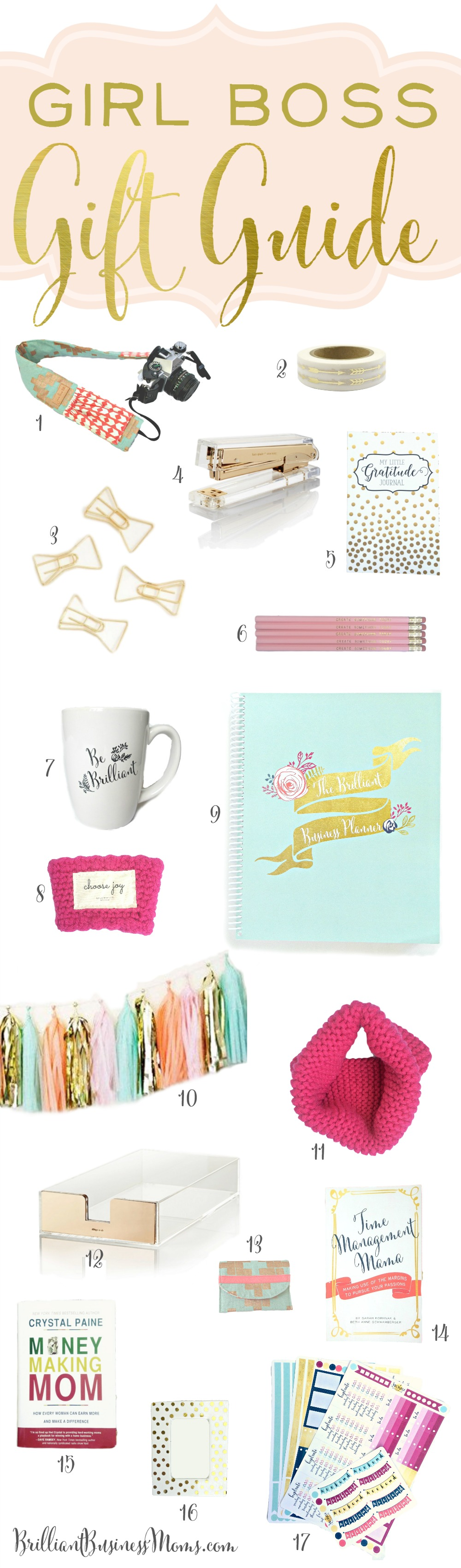 Girl Boss Gift Guide 2016 Great Big Giveaway